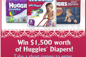 Win Huggies Diapers