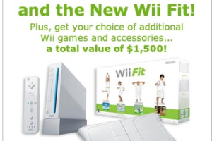 Win a Nintendo Wii and Wii Fit