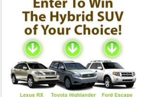 Win a Hybrid SUV