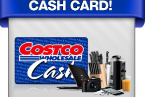 Win a $1500 Costco Cash Card